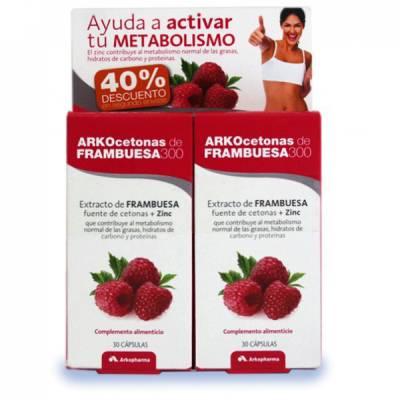Activa tu metabolismo a la vez que pierdes peso con Arkocetonas de Frambuesa