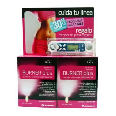 Consigue un cuerpo10 con Burner Plus